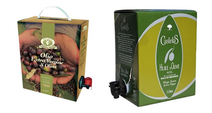 產品特點 灌裝方便安全高效; 相對于回收桶更衛生 比PET瓶和玻璃瓶更輕; 同樣體積運輸的產品更多 細分行業 菜籽油,大豆油,調和油,橄欖油等等 規格與材料 貨架產品規格:10升,20升,22升,25升 材料結構: PA/LLDPE+LLDPE PET/LLDPE+LLDPE